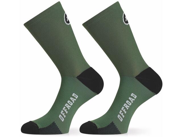 ASSOS XC Socken mugo green